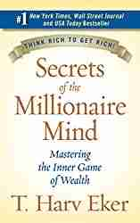 personal finance book titled Secrets of the Millionaire Mind