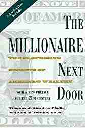 personal finance book titled The Millionaire Next Door