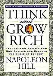 personal finance book titled Think and Grow Rich