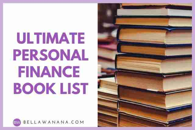 Ultimate Personal Finance Book List