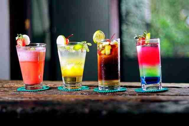 Mix my own cocktail drinks