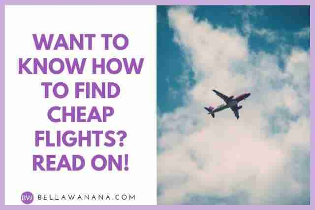 Want to Know How to Find Cheap Flights? Read On!