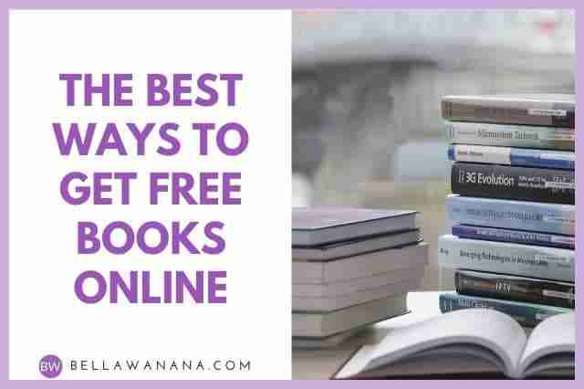 The Best Ways to Get Free Books Online