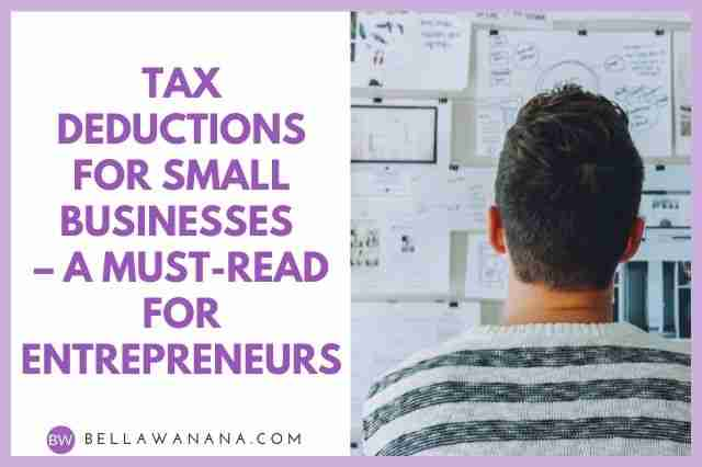 tax deductions for small businesses