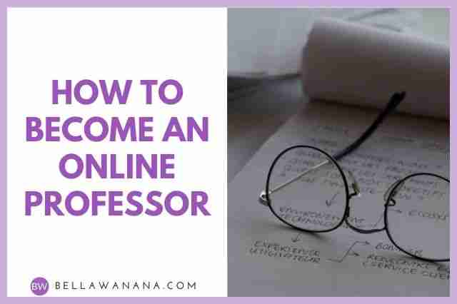 How to Become an Online Professor