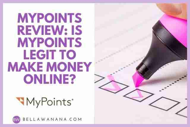 MyPoints Review Is MyPoints Legit to Make Money Online
